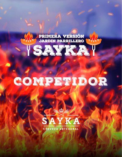 SAYKA : Centro de Eventos - Credencial Desafío Parrillero