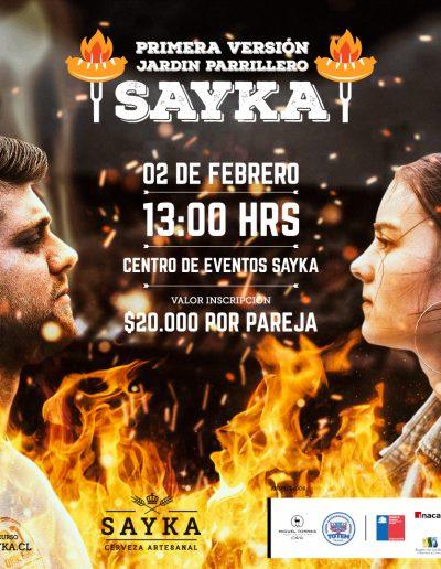 SAYKA : Desafío Parrillero - Redes Sociales