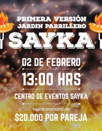 SAYKA : Centro de Eventos - Banner Fanpage