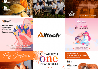 ALLTECH – Redes Sociales
