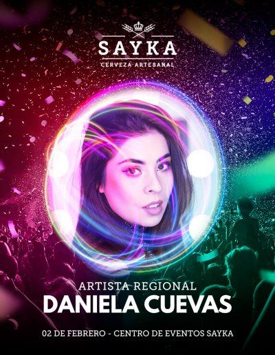 SAYKA : Centro de Eventos - Invitada Daniela Cuevas