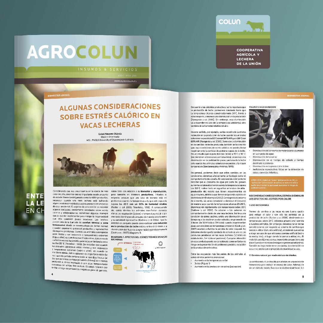 COLUN - Revista Agrocolun - 1