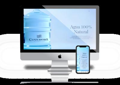 AGUAS CUATERNARIA – Sitio Web