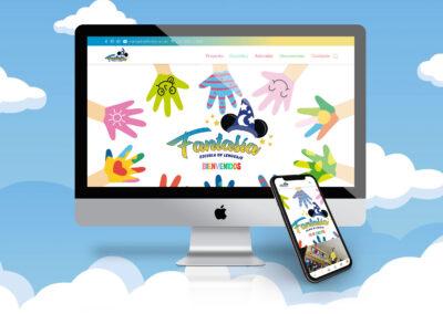 ESCUELA DE LENGUAJE FANTASIA – Sitio Web